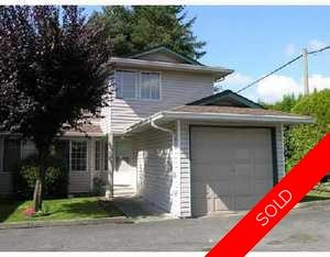 Maple Ridge Townhouse for sale:  3 bedroom 1,321 sq.ft. (Listed 2008-08-29)